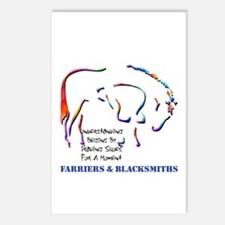 Farriers & Blacksmiths Postcards (Packag