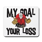 Hockey Goalie Mousepad