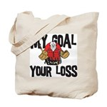 Hockey Goalie Tote Bag