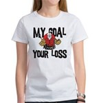 Hockey Goalie Women's T-Shirt