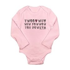Princess Bride Twoo Wuv Foweva Infant Bodysuit