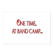 Band Camp Postcards (Package of 8)