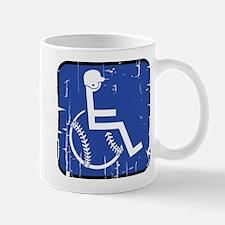 Handicapable Baseball Mug