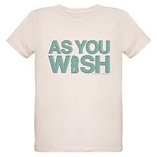 As You Wish Princess Bride Organic Kids T-Shirt