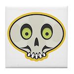 Skull Halloween Tile Coaster