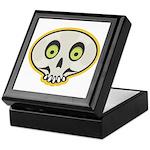 Skull Halloween Keepsake Box