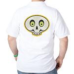Skull Halloween Golf Shirt
