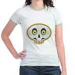 Skull Halloween Jr. Ringer T-Shirt