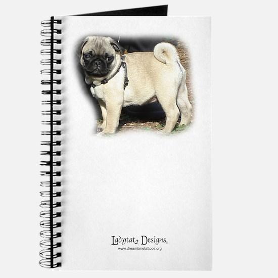 Cute Pug tattoos Journal