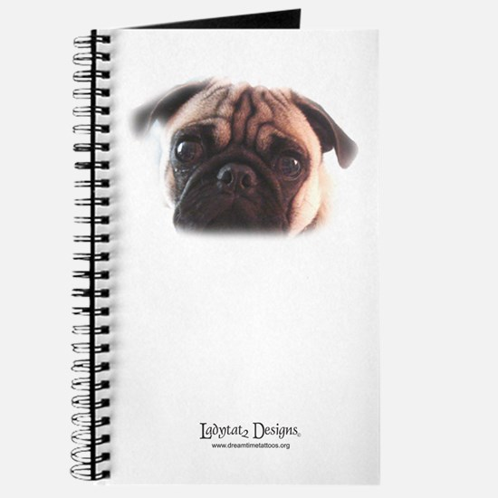 Cool Pug tattoos Journal
