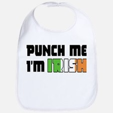 Punch me, I'm irish Bib