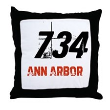 734 Throw Pillow