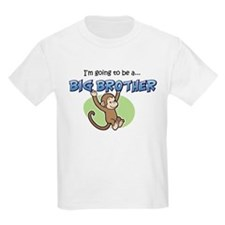 Big Brother to be (Monkey) T-Shirt