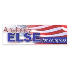 Anybody Else, for Congress
