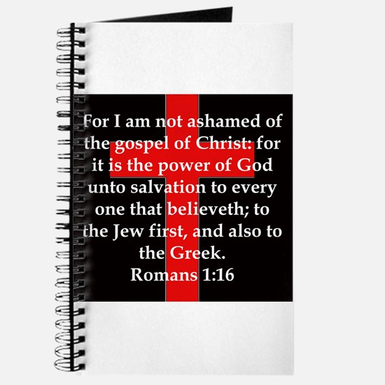 Romans 1-16 Journal