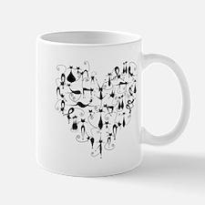 Funny White panther Mug