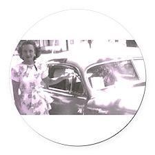 newcar Round Car Magnet