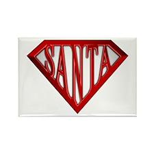 Super Santa Rectangle Magnet