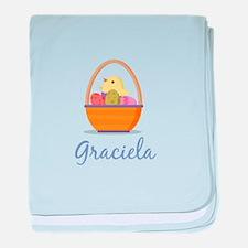 Easter Basket Graciela baby blanket
