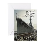 USS Alabama Christmas Cards (6)
