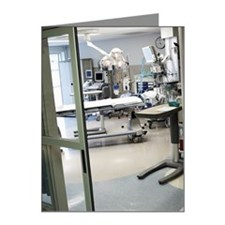 Room in intensive care unit Note Cards (Pk of 10)