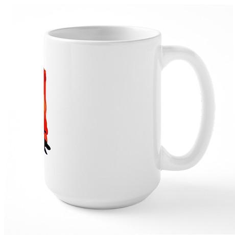 Tibetan Spaniel Large Mug