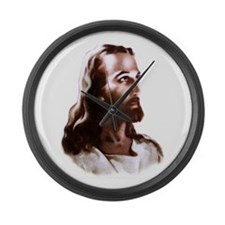 Jesus Large Wall Clock