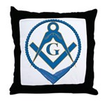 S&C in Cable Tow Throw Pillow