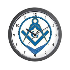 S&C in Cable Tow Wall Clock