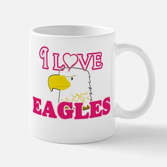 I Love Eagles Mugs