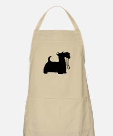 Scotty Dog and Leash Apron