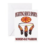 FIGHTING SIOUX SPORTS Greeting Cards (Pk of 20)