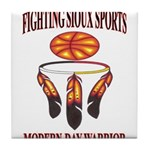 FIGHTING SIOUX SPORTS Tile Coaster