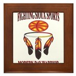 FIGHTING SIOUX SPORTS Framed Tile