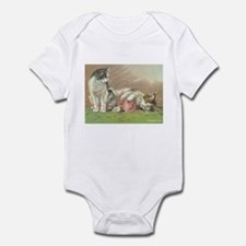 Cute Yarn vintage Infant Bodysuit