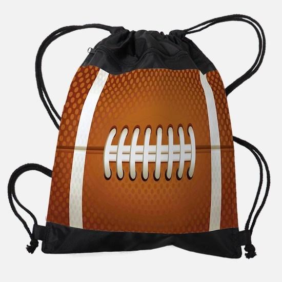 Football Drawstring Bag