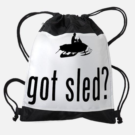 Snowmobile-02-A Drawstring Bag