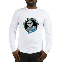 Out of This World Dad Alien Long Sleeve T-Shirt
