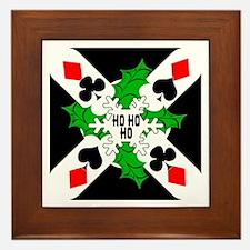 Ho Ho Ho Framed Tile