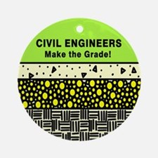 Civil Engineers Ornament (Round)