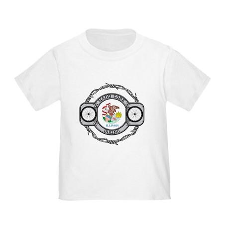 Illinois Biking Toddler T-Shirt
