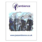 Small Jazz Ambience Wall Poster