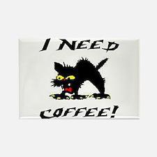 I NEED COFFEE! Rectangle Magnet