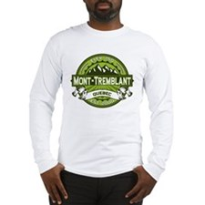 Mont-Tremblant Green Long Sleeve T-Shirt