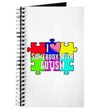I Heart (love) Somebody With Autism Journal