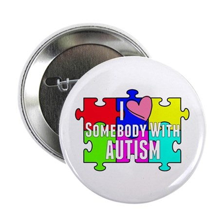 """I Heart (love) Somebody With Autism 2.25"""" But"""