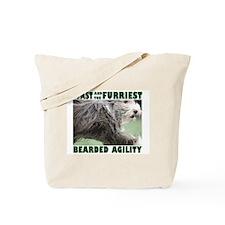 Beardie Agility! Tote Bag