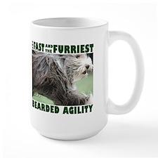 Beardie Agility! Mug