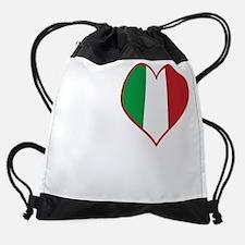 I Heart Verona Drawstring Bag