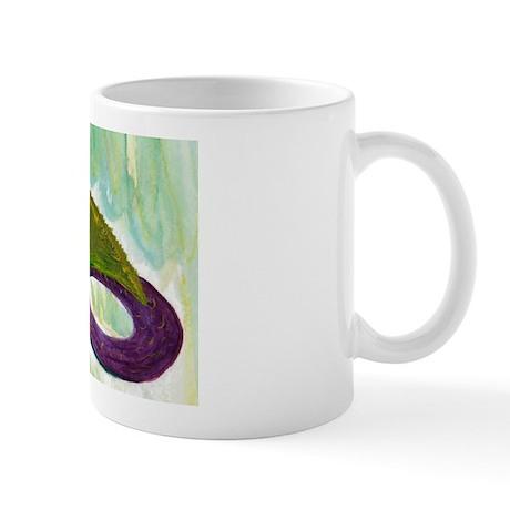 Mardi Gras Mermaid Mug